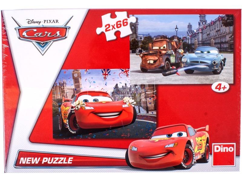 Verdák 2 x 66 darabos puzzle