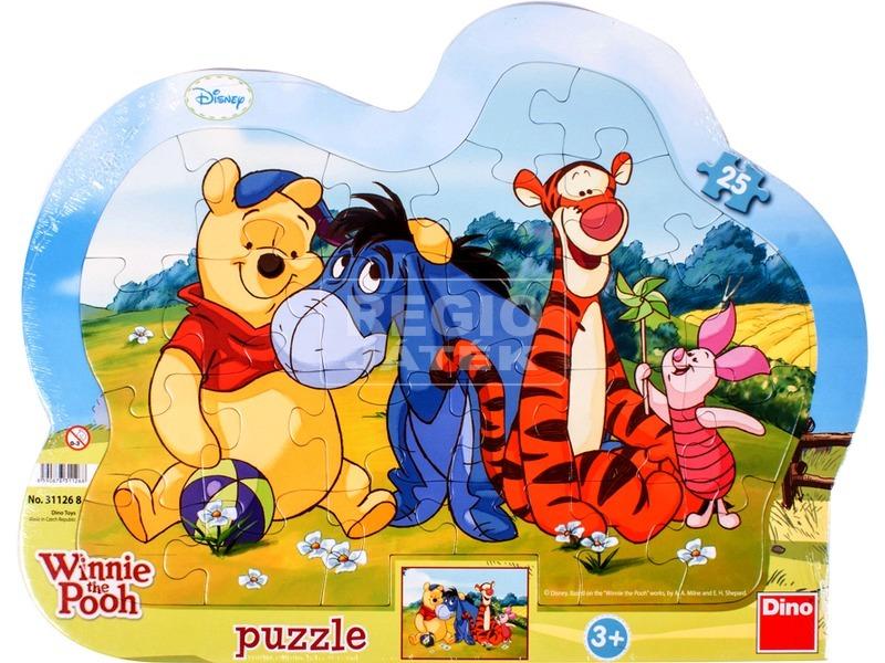 Micimackó 25 darabos puzzle