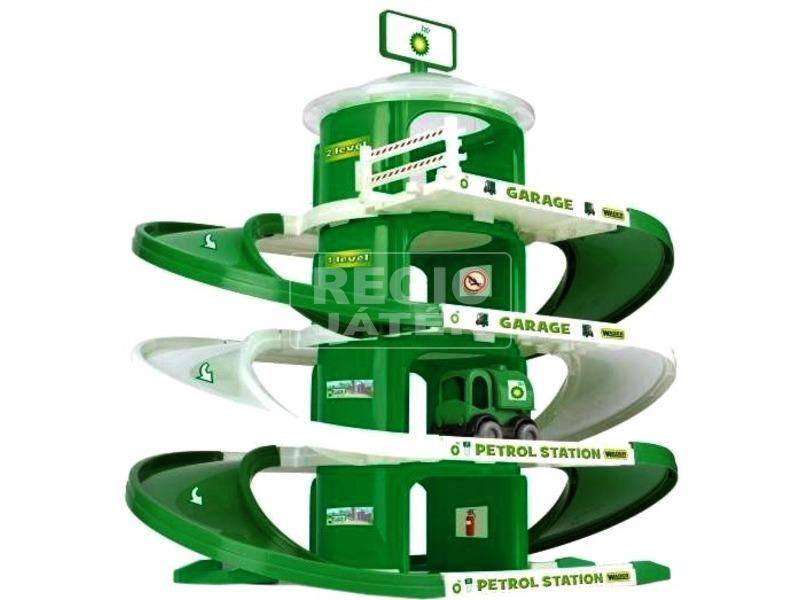 Wader négyszintes garázs - zöld