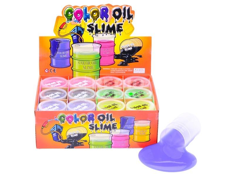 Slime hordóban - 130 g, többféle