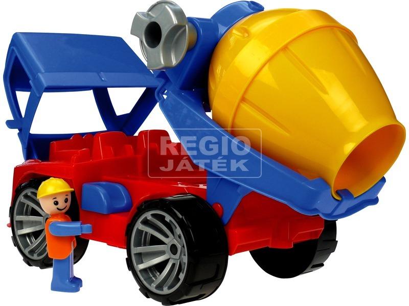 Truxx műanyag betonkeverő autó - 29 cm