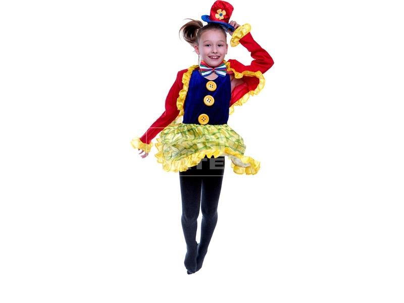 kép nagyítása Bohóclány gyerekjelmez - 120-130-as méret