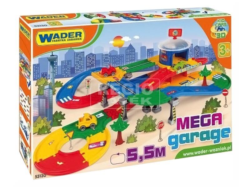 Kid Cars 3D garázs