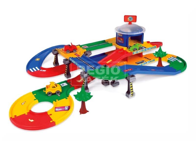 kép nagyítása Wader Kid Cars 3D parkolóház - 5, 5 m