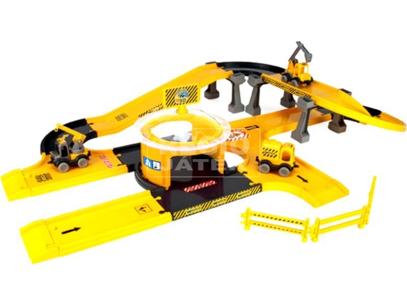 Wader Kid Cars autópálya építő készlet 3, 7 m