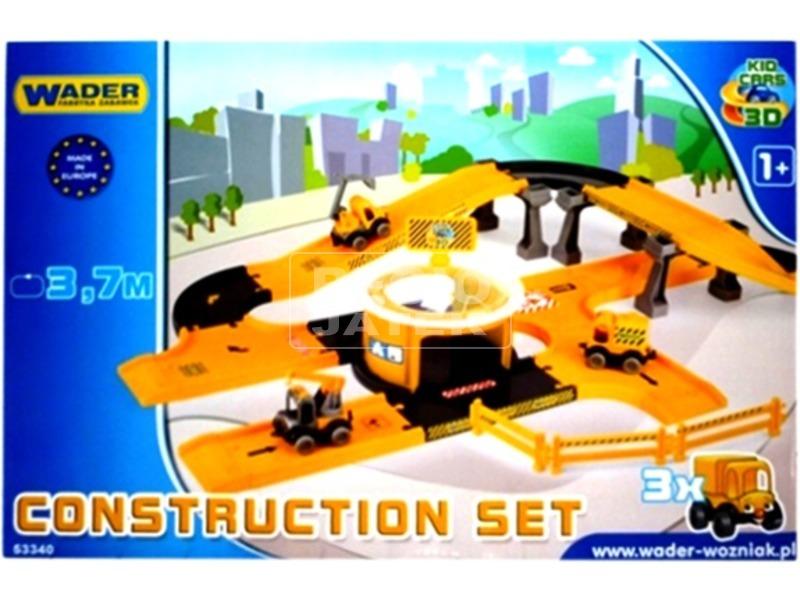 kép nagyítása Wader Kid Cars autópálya építő készlet 3, 7 m