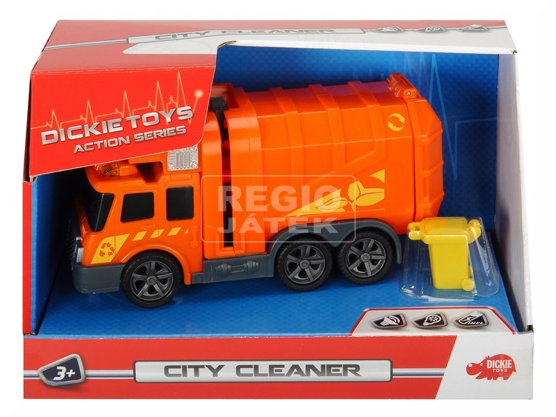 Action Series Mini City Cleaner 15 cm