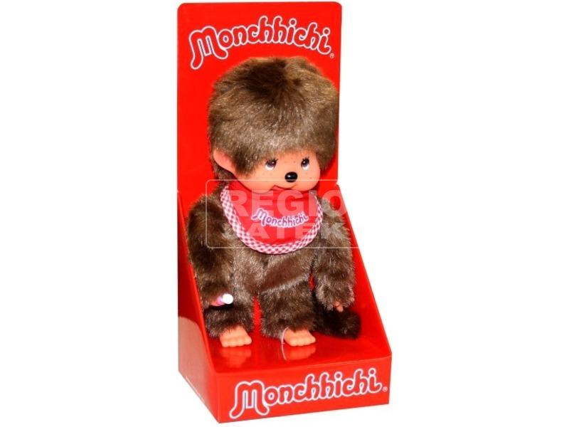 Monchhichi fiú plüssfigura - 20 cm