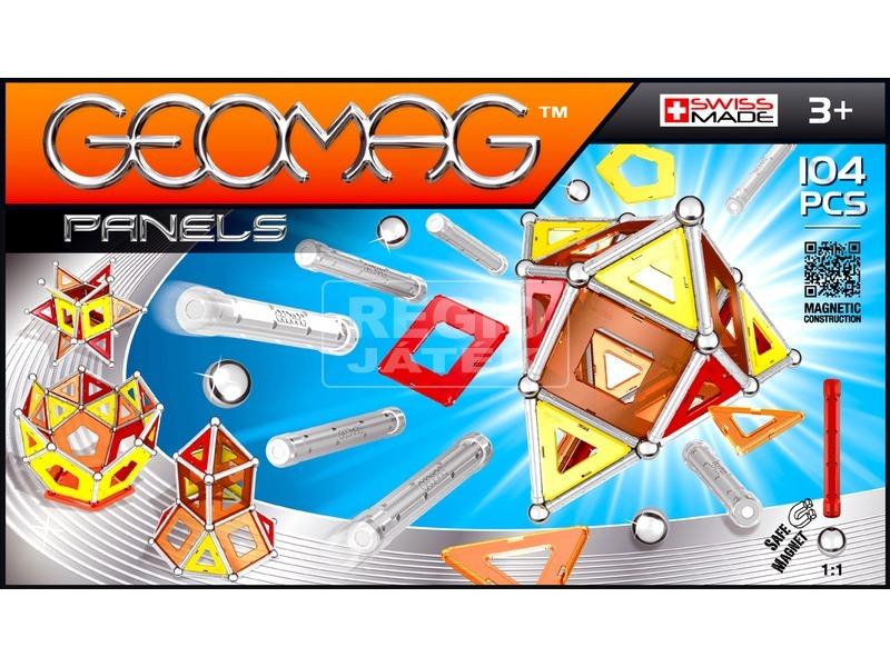 Geomag Panels 104 darabos készlet