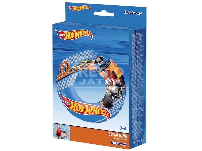 Hot Wheels úszógumi - 56 cm