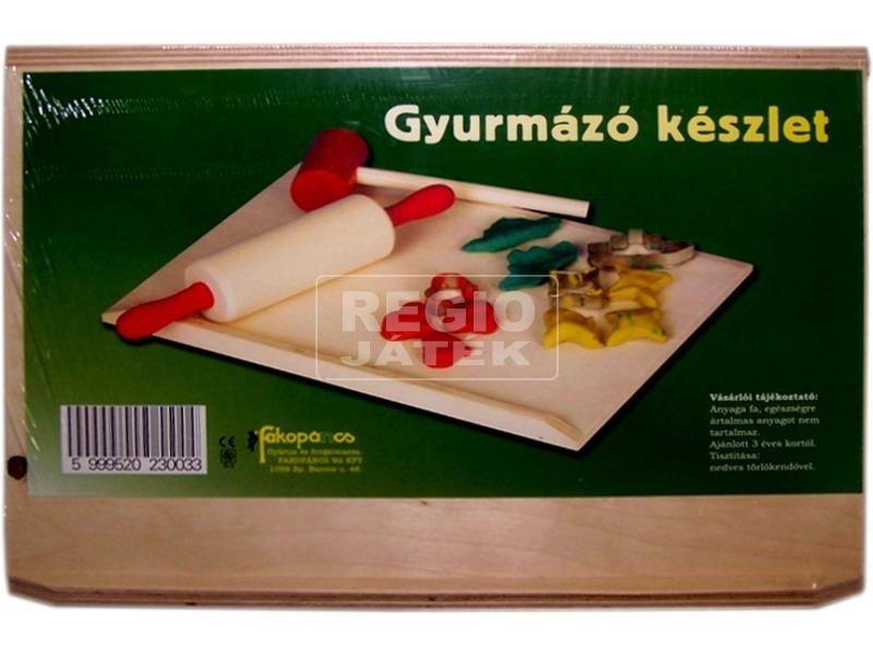 Gyurmázó 6 darabos készlet