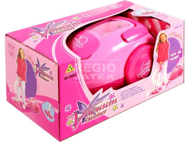 Vacuum elemes porszívó - rózsaszín