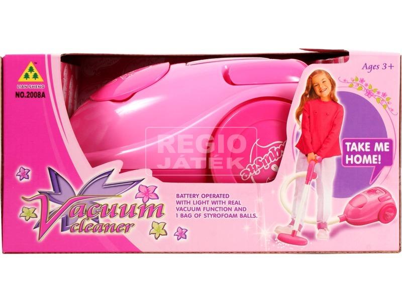 kép nagyítása Vacuum elemes porszívó - rózsaszín