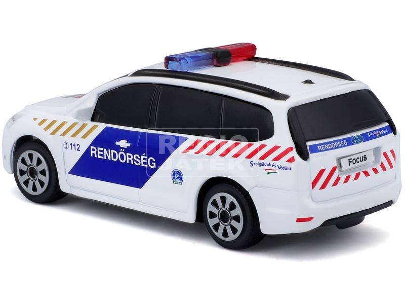 kép nagyítása Bburago Magyar Rendőrautó szirénázó Ford 1:43