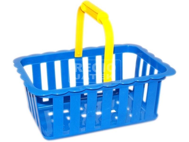 Műanyag bevásárló kosár - 25 cm, többféle
