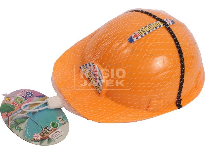 Barkács készlet sisakban - narancssárga