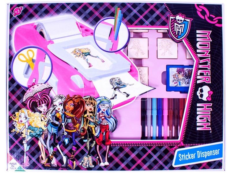 Monster High: matrica készítő készlet