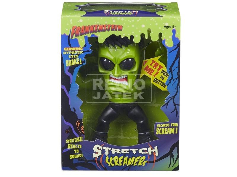 Frankenstein nyújtható sikító figura - 20 cm