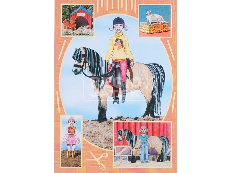Öltöztető ló füzet