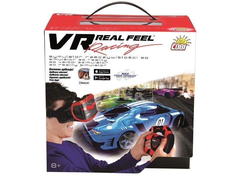 VR 3D versenyautó szimulátor okostelefonhoz