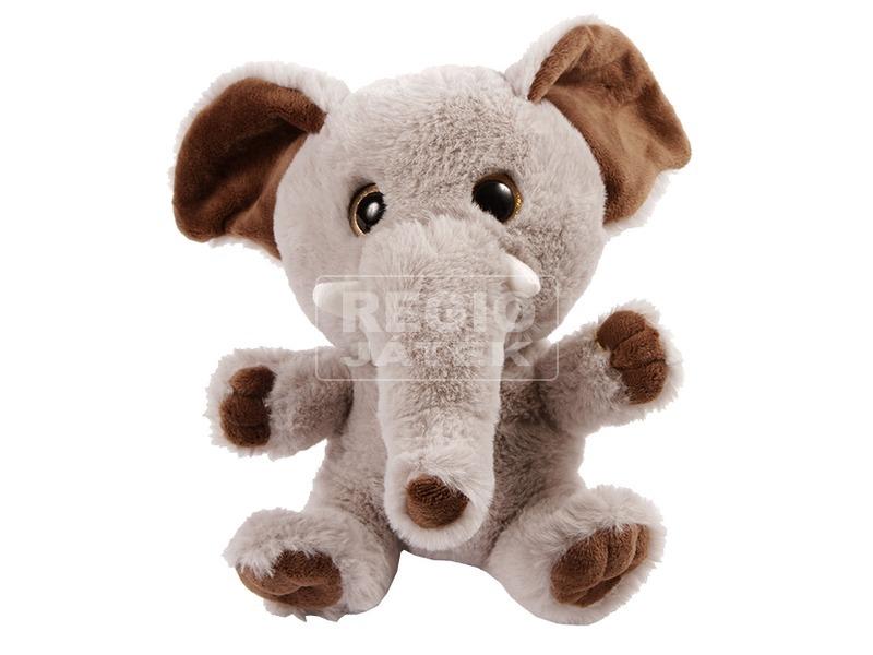 Elefánt plüssfigura - 20 cm