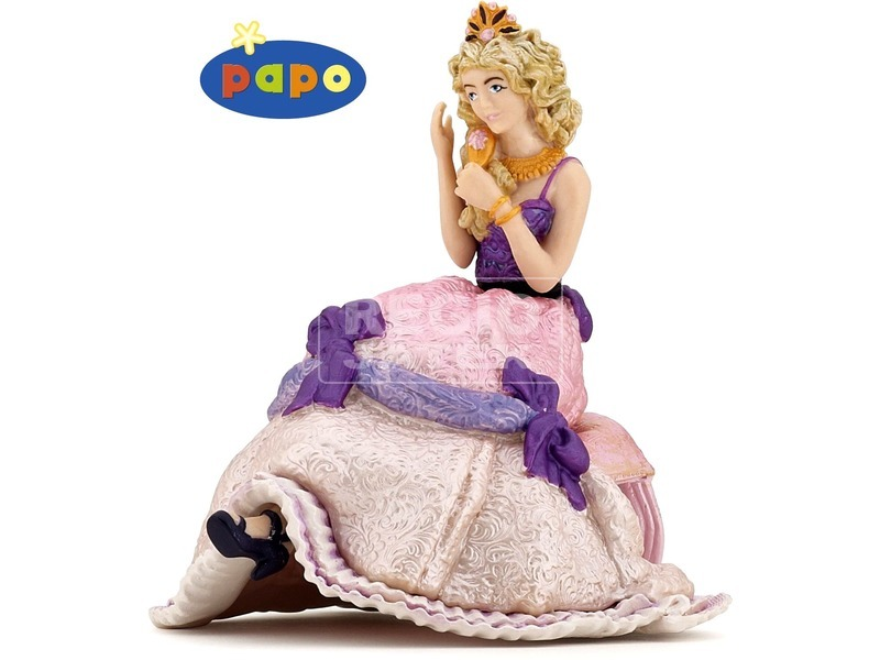 Papo ülő hercegnő figura 39033