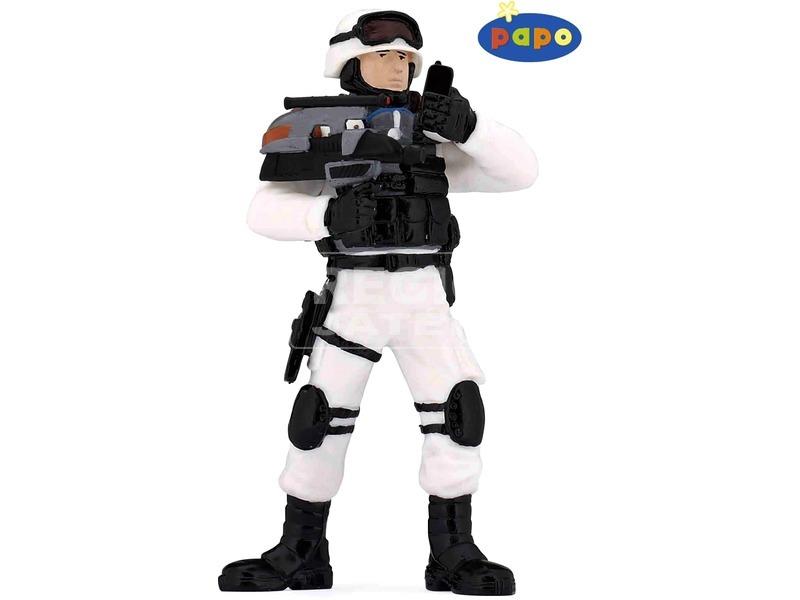 Papo felderítő harcos 70104