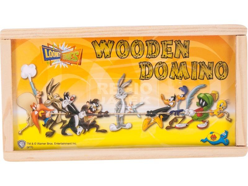 Bolondos dallamok 28 darabos fa dominó