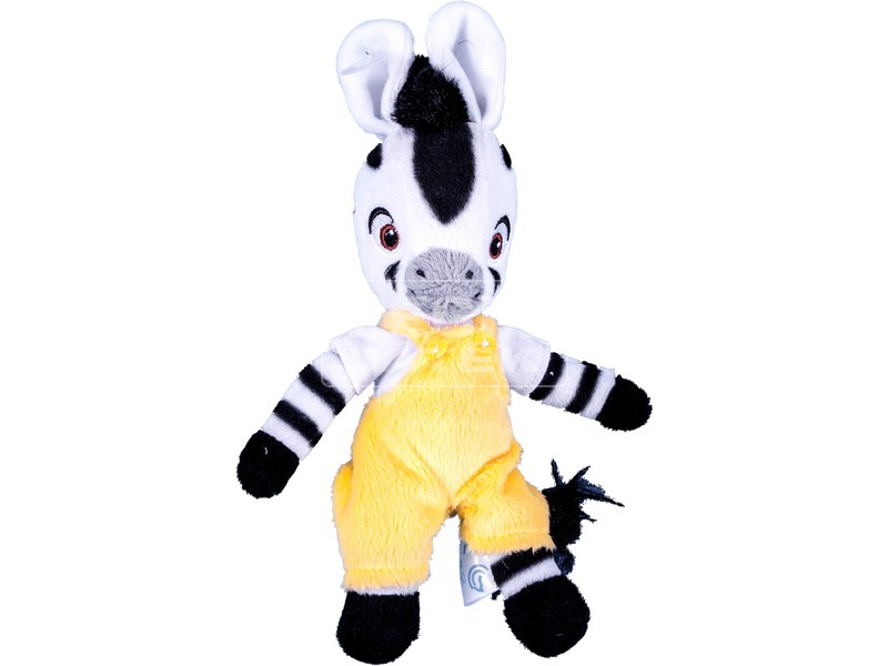 Zou zebra nadrágos plüssfigura - 23 cm, többféle