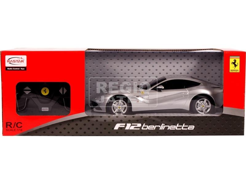 Távirányítós Ferrari F12 - 1:18, többféle