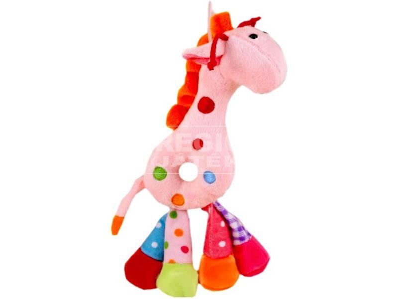 kép nagyítása Puha plüss zsiráf csörgő, 3 színben