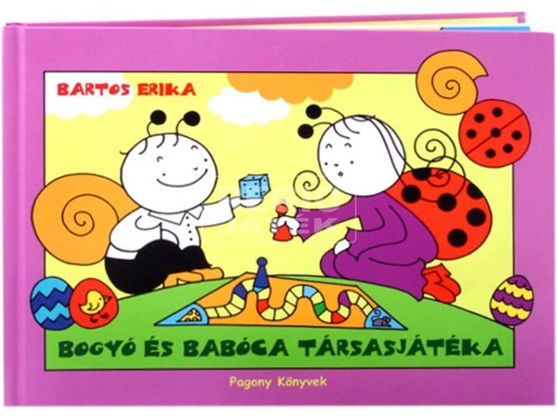 Bogyó és Babóca társasj. könyv
