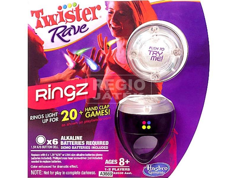 Twister Rave gyűrű táncos ügyességi játék - többféle