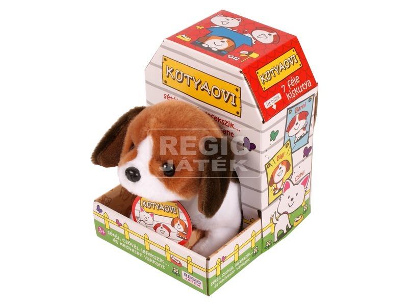 Sétáló Beagle kutyus - 20 cm