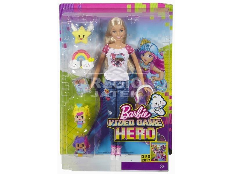 Barbie: Videojáték kaland Barbie - 29 cm