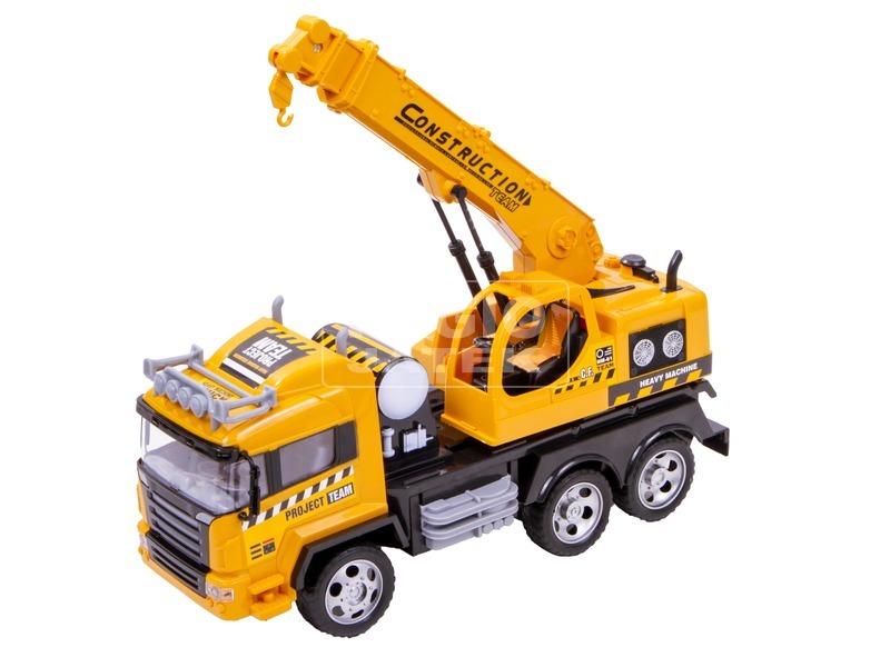 Távirányítós kamion munkagép - 37 cm, többféle