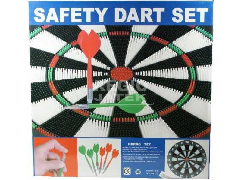 Safety Darts tábla nyilakkal - 42 cm