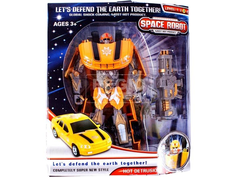 Space Robot átalakuló űrrobot - többféle