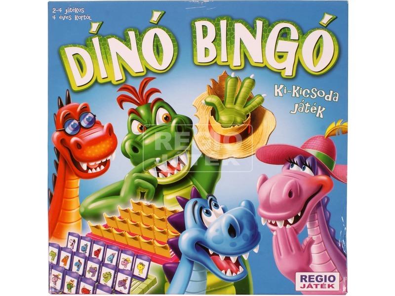 Dínó Bingó társasjáték