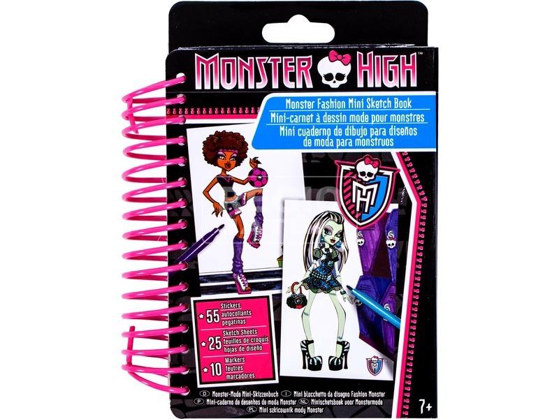 Monster High: mini divattervező készlet