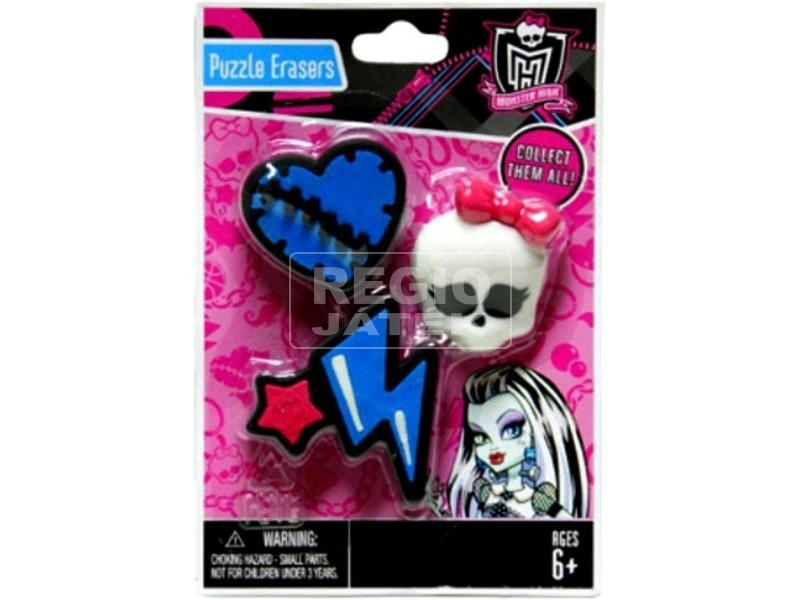 Monster High: radír készlet - többféle