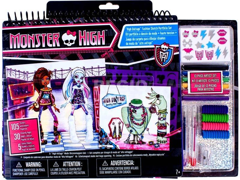 Monster High: divattervező készlet