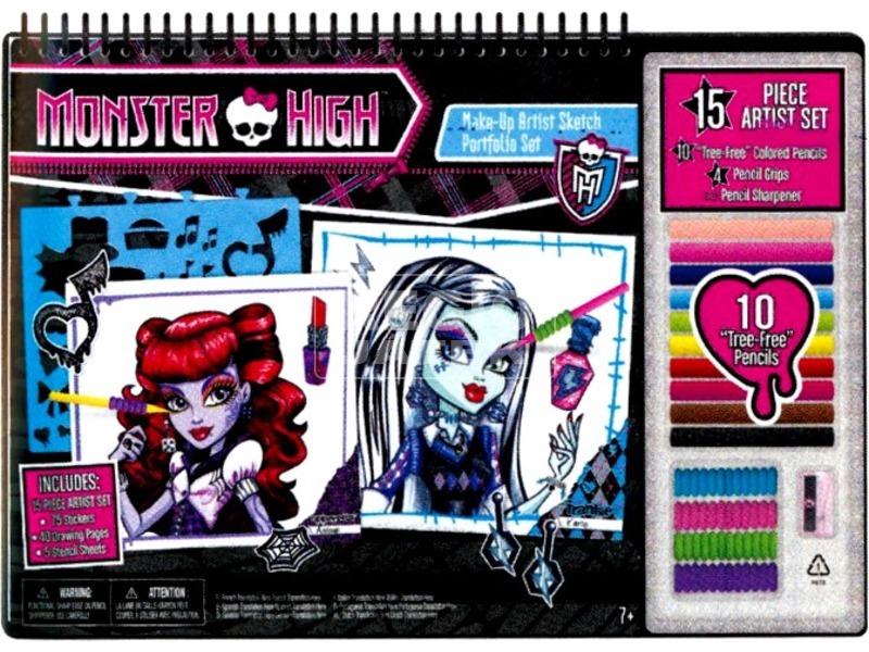 Monster High: Sminktervező készlet