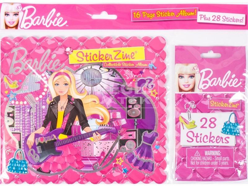 Barbie tervező füzet kiegészítők