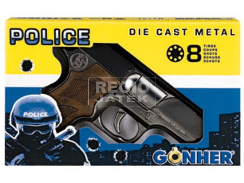 kép nagyítása Rendőrségi patronos pisztoly - 18 cm
