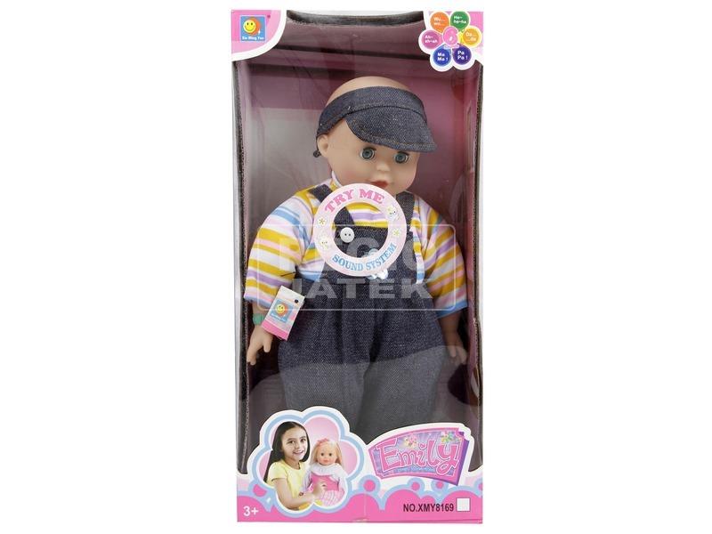 Játékbaba hanggal - 41 cm, többféle
