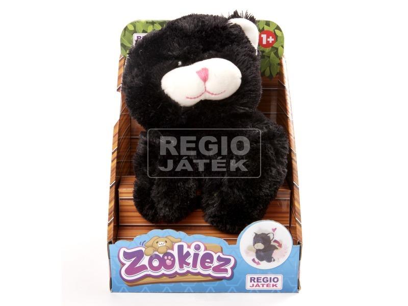 Zookiez cica plüssfigura - fekete, 30 cm