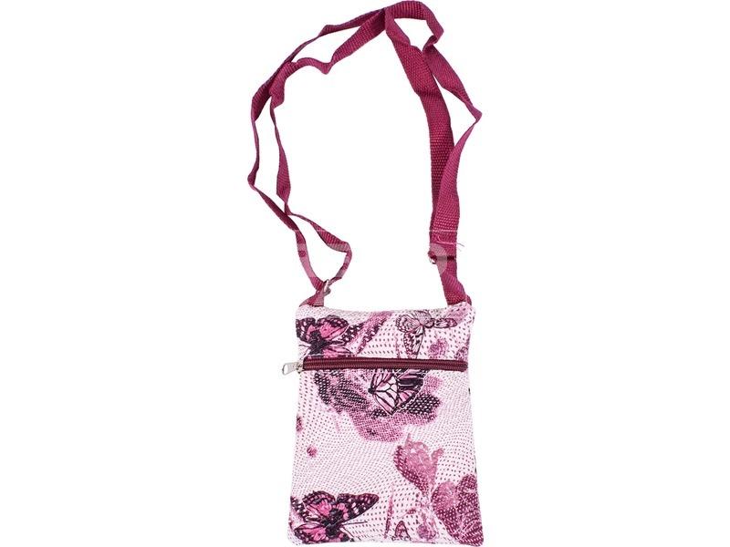 3 cippes vállraakasztós virágos kislány táska