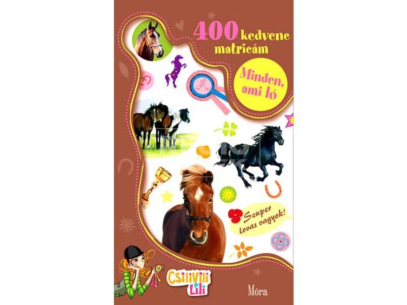Minden ami ló matricás könyv
