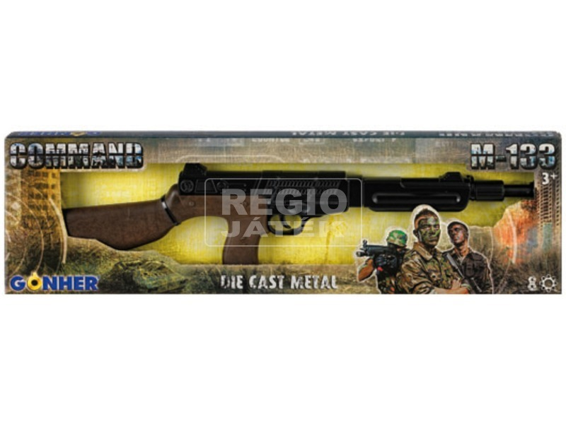 kép nagyítása Commando patronos puska - 50 cm